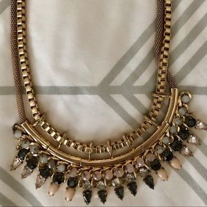 Express collar statement necklace